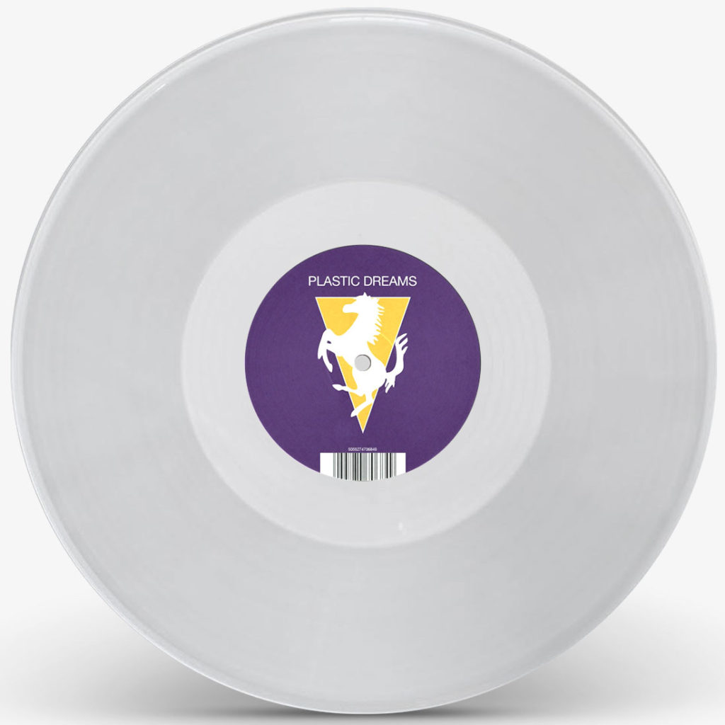 PLASTIC DREAMS (CLEAR VINYL REPRESS) -pre-order-