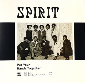 SPIRIT (inc.ZAF & PHIL ASHER EDIT) -RSD LIMITED-
