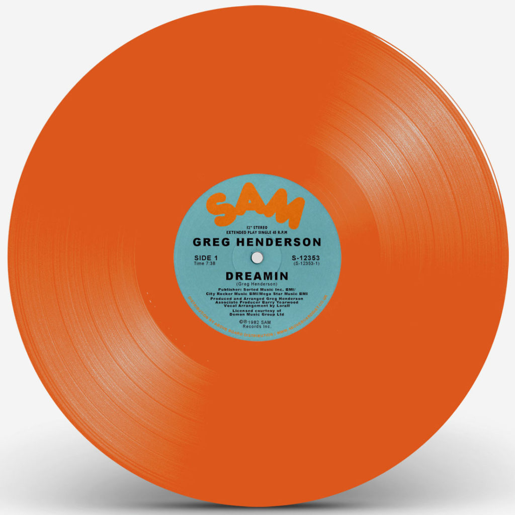 DREAMIN' (ORANGE VINYL REPRESS) -pre-order-