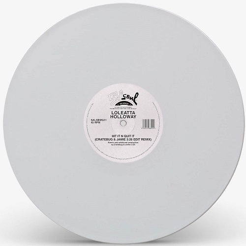 HIT IT N QUIT IT-JAMIE 3:26 & CRATEBUG EDIT(WHITE VINYL REPRESS)