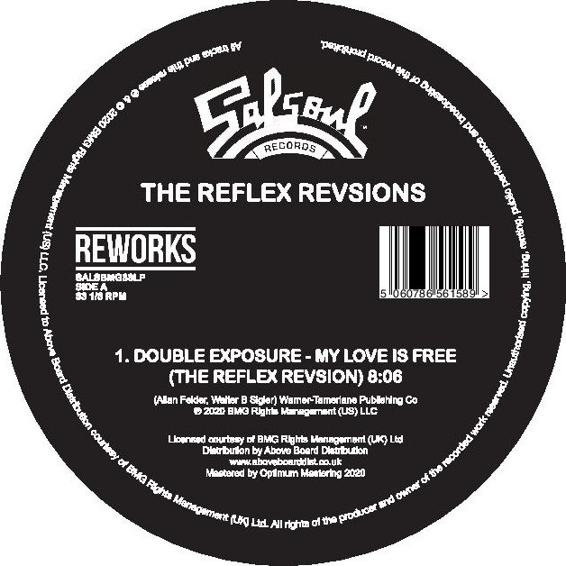 MY LOVE IS FREE / I GOT MY MIND MADE UP (THE REFLEX REVISIONS) -