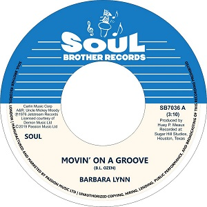 MOVIN' ON A GROOVE / DISCO MUSIC (7 inch)