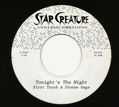 TONIGHT'S THE NIGHT (7 inch)