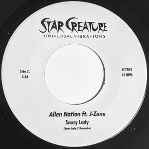 ALIEN NATION / ORBIT (feat. J-ZONE) (7 inch)