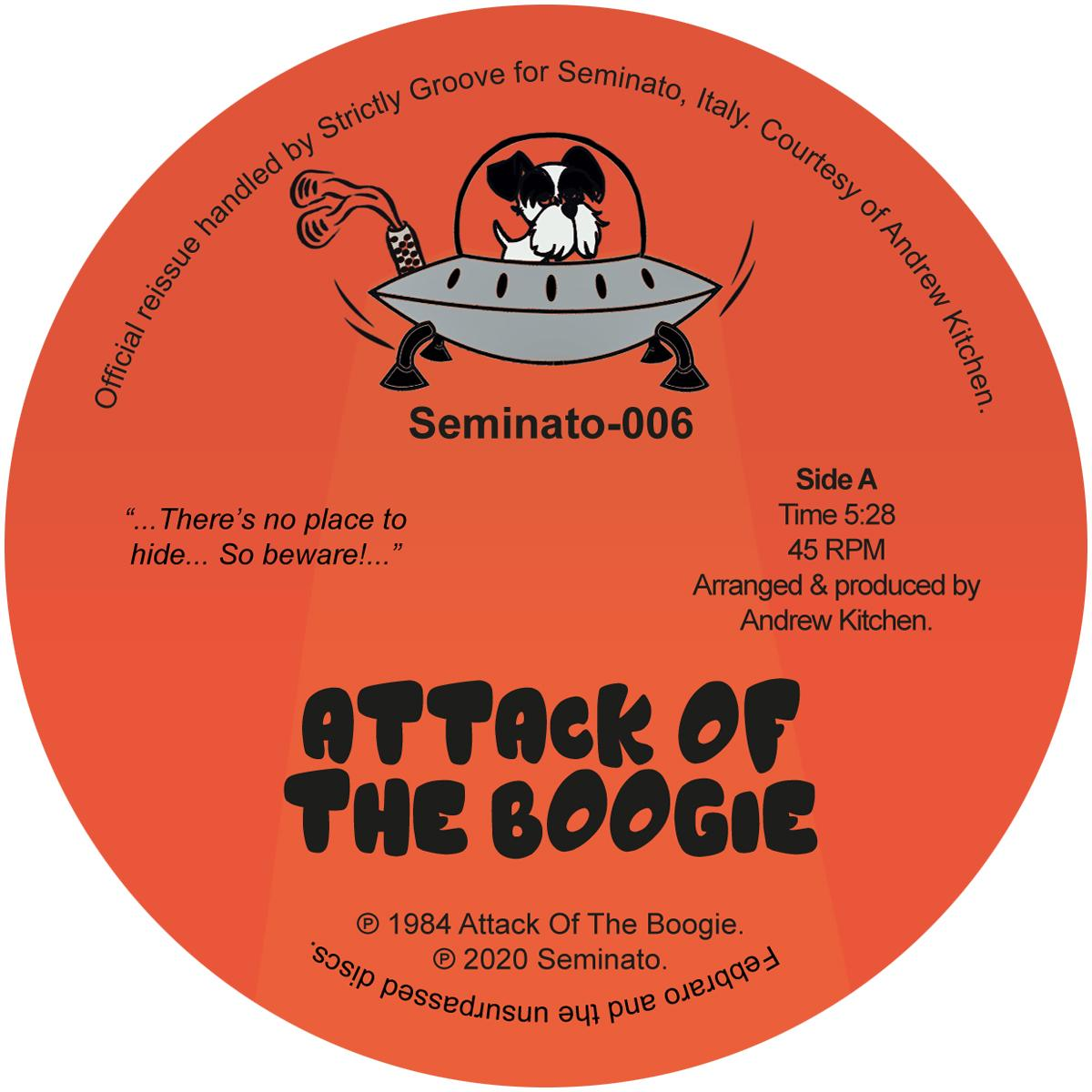 ATTACK OF THE BOOGIE -pre-order-