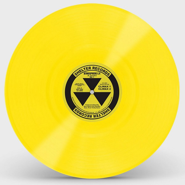 ATMOSPHERE EP (YELLOW VINYL REPRESS)