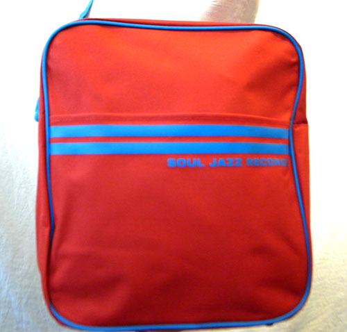 12inch RECORD BAG (RED & BLUE)