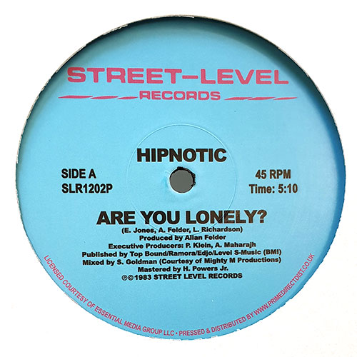 ARE YOU LONELY -RSD LIMITED- [SLR1202P] - HIPNOTIC - STREET
