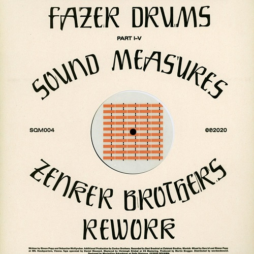 SOUND MEASURES / ZENKER BROTHERS REWORK (LP)