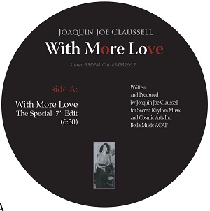WITH MORE LOVE (7 inch) - RED VINYL