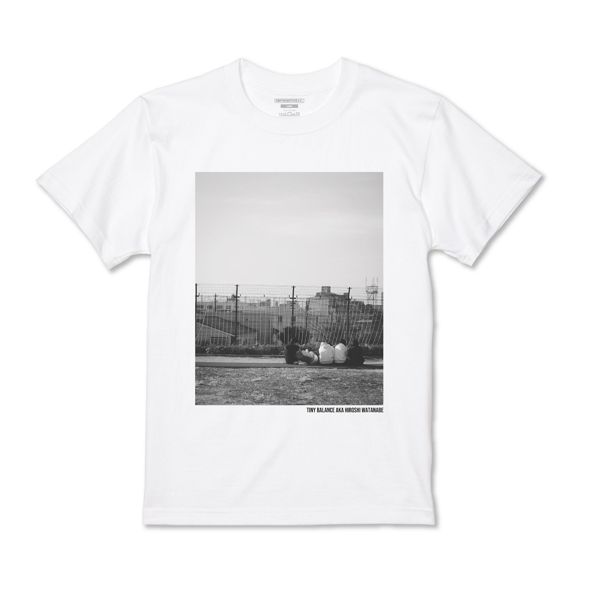 PHOTO TEE WHITE -pre-order-