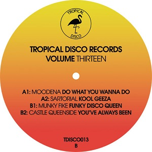 TROPICAL DISCO RECORDS VOLUME 13