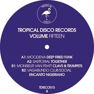 TROPICAL DISCO RECORDS VOL.15