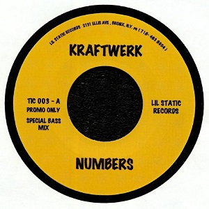 NUMBERS (SPECIAL BASS MIX) (7 inch)