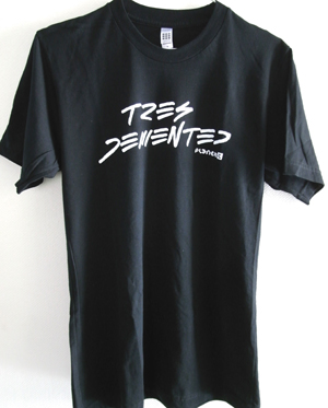 TRES DEMENTED T-SHIRTS(SIZE:M/OS)