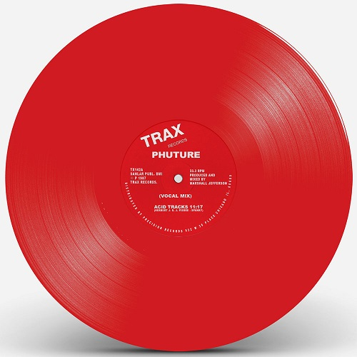 ACID TRACKS (LIMITED RED VINYL REPRESS)