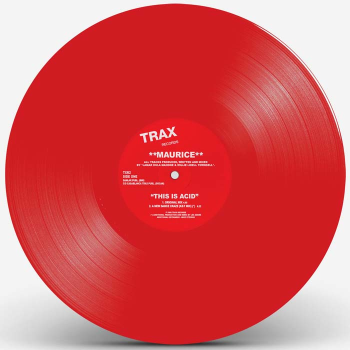 THIS IS ACID (RED VINYL REPRESS)
