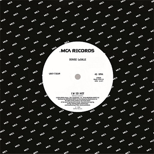 I'M SO HOT / THE SOUND OF MUSIC (7 inch) [UIKY-75049