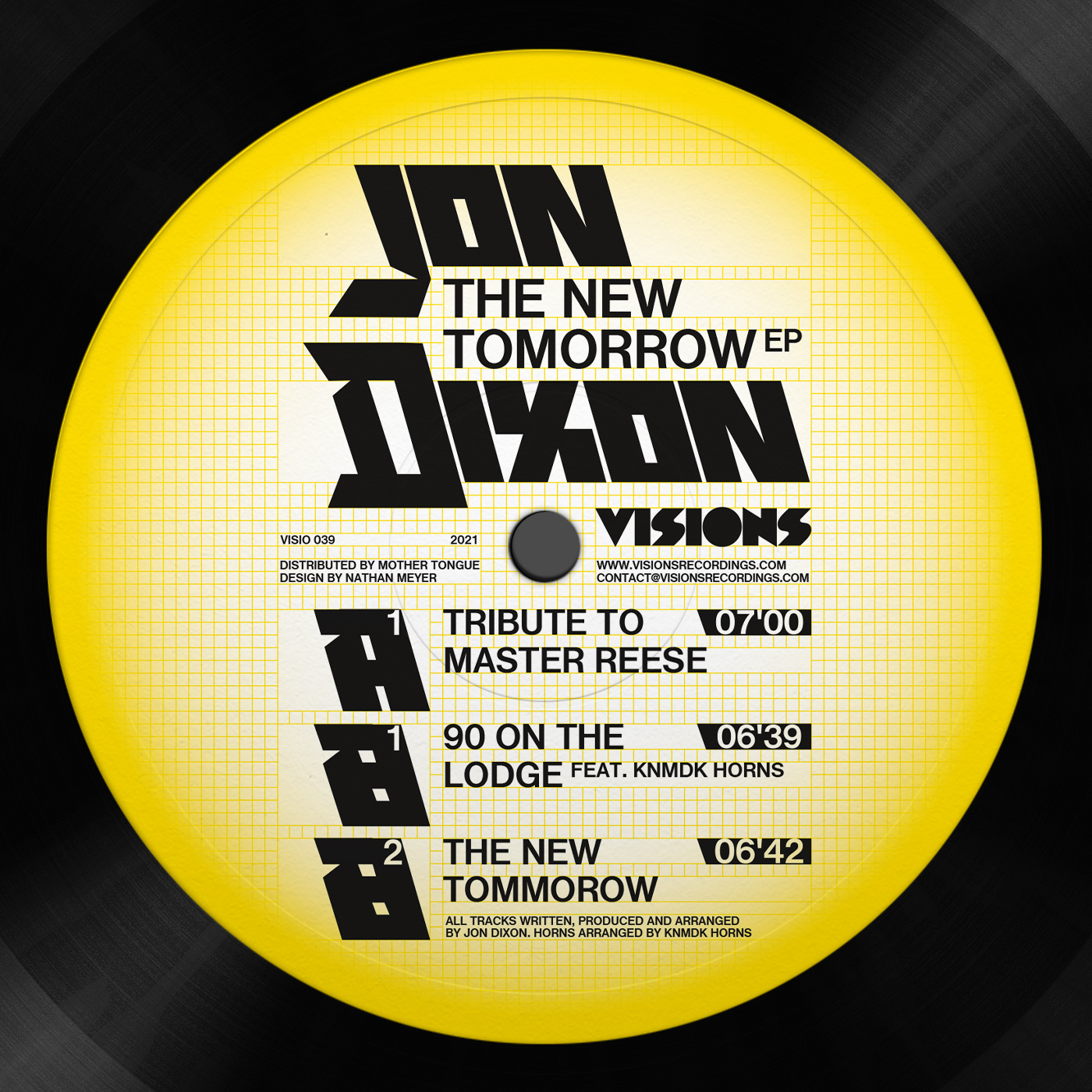 THE NEW TOMORROW EP -pre-order-
