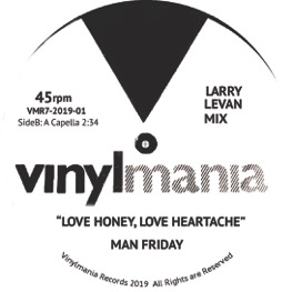 LOVE HONEY, LOVE HEARTACHE (LARRY LEVAN MIX) (7 inch)