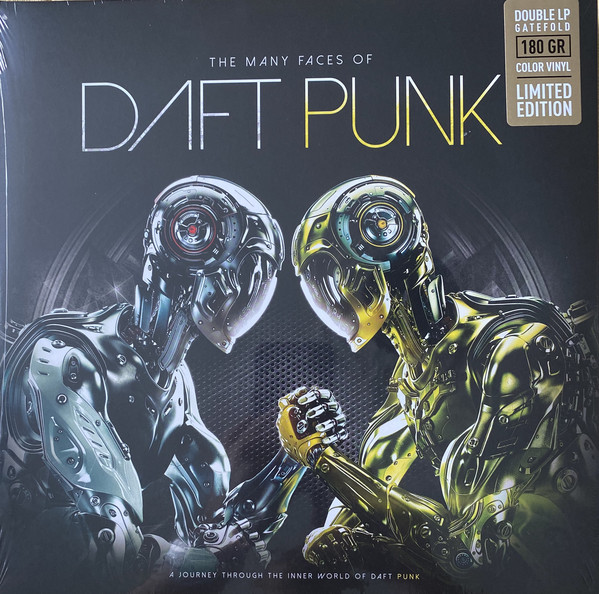 THE MANY FACES OF DAFT PUNK (2LP) -pre-order-