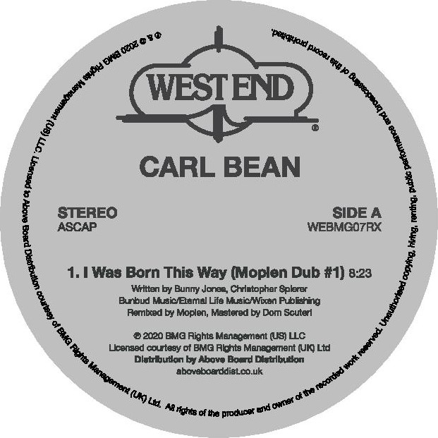 I WAS BORN THIS WAY (MOPLEN DUBS) -pre-order-