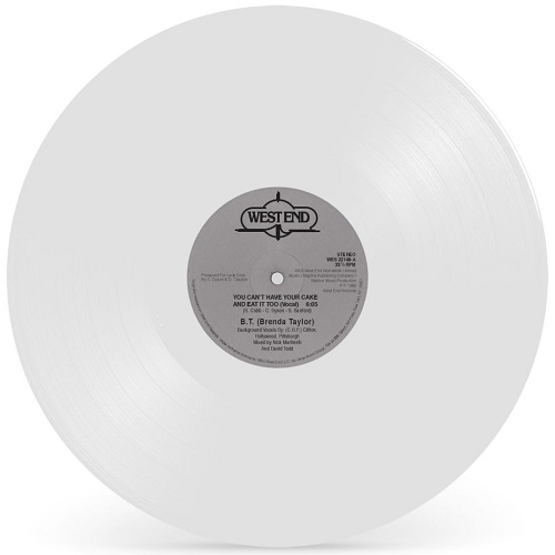 YOU CAN'T HAVE YOUR CAKE AND EAT IT TOO (WHITE VINYL)