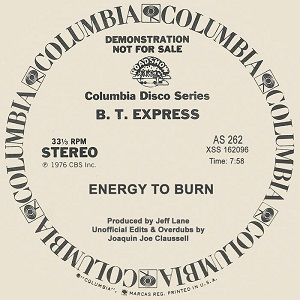 ENERGY TO BURN (JOAQUIN JOE CLAUSSELL EDIT & OVERDUB)