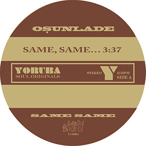 SAME, SAME… / MUSIC HAD APPEAL (7 inch) -RSD LIMITED-