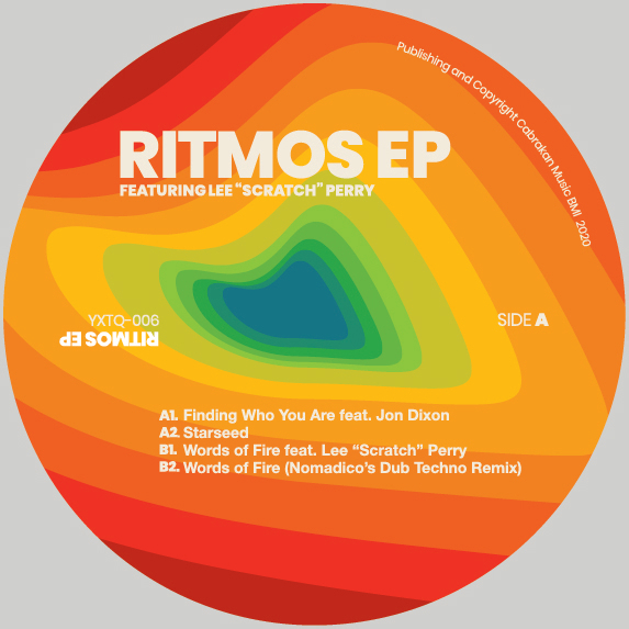 "RITMOS EP FEAT JON DIXON AND LEE ""SCRATCH"" PERRY -pre-order-"