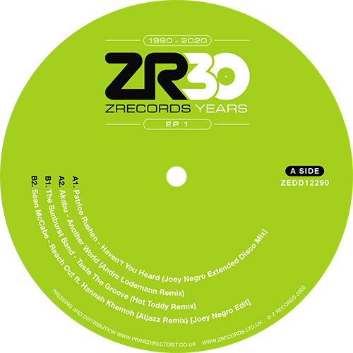 JOEY NEGRO presents 30 YEARS OF Z RECORDS - EP1