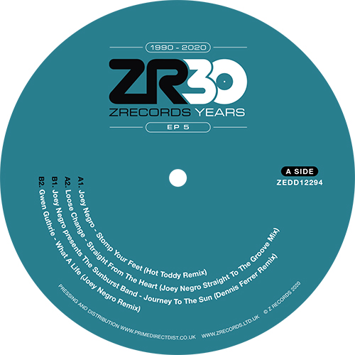 DAVE LEE PRESENTS 30 YEARS OF Z RECORDS – EP 5 -pre-order-